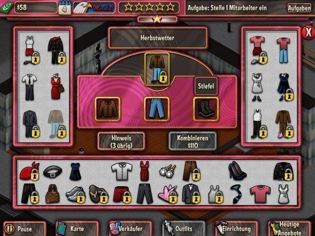 Screenshot  «Boutique Boulevard» № 3