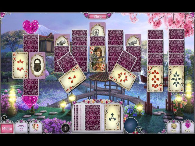 Screenshot  «Jewel Match Solitaire: L'Amour» № 2