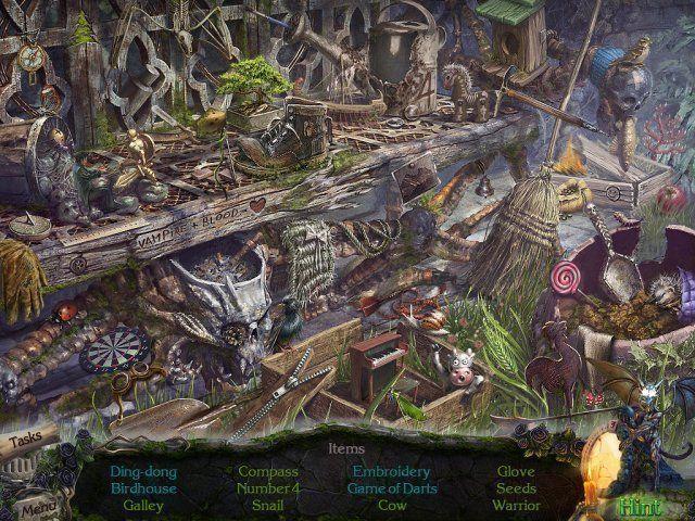 Screenshot  «Mystery Castle: The Mirror's Secret. Platinum Edition» № 1