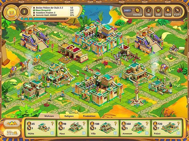 Screenshot  «Ramses: Aufstieg eines Imperiums. Sammleredition» № 4