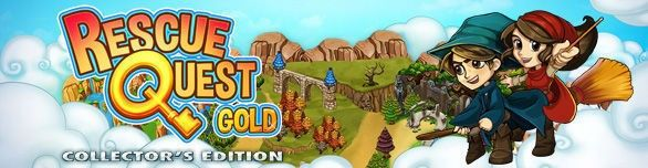 Spiel Rescue Quest Gold Collector s Edition