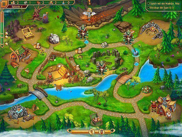 Screenshot  «Im Land der Wikinger 3. Sammleredition» № 8