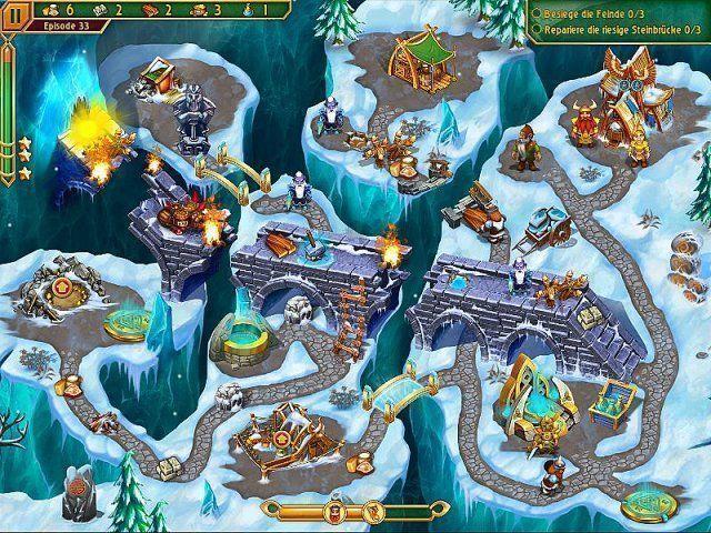 Screenshot  «Im Land der Wikinger 3» № 6