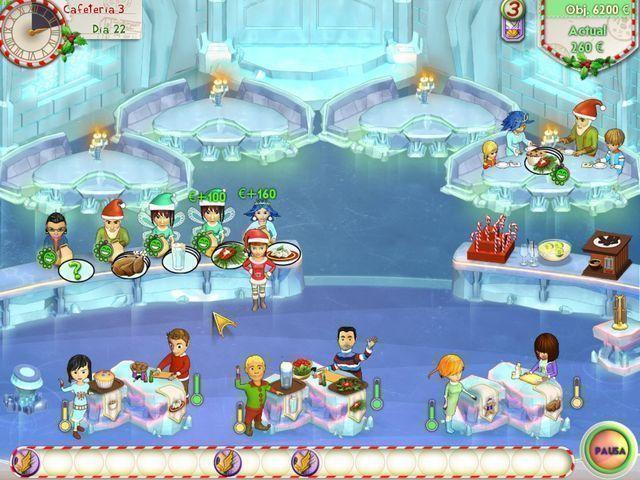Amelie's Café: Holiday Spirit en Español game