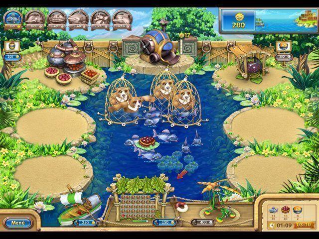 Download of the shareware descargar juego de farm frenzy for Fish farm games