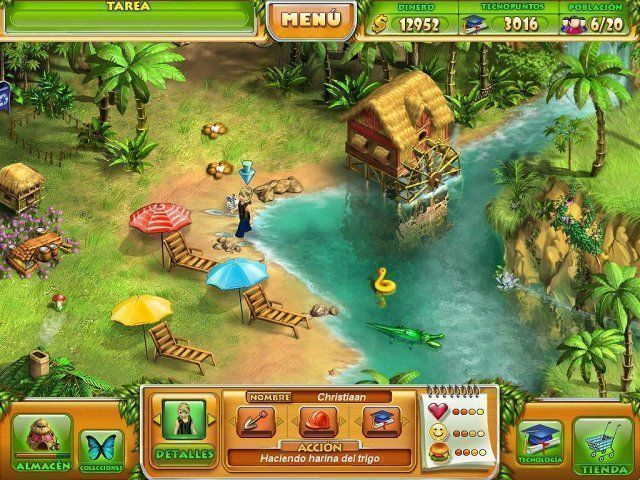 Farm Tribe en Español game