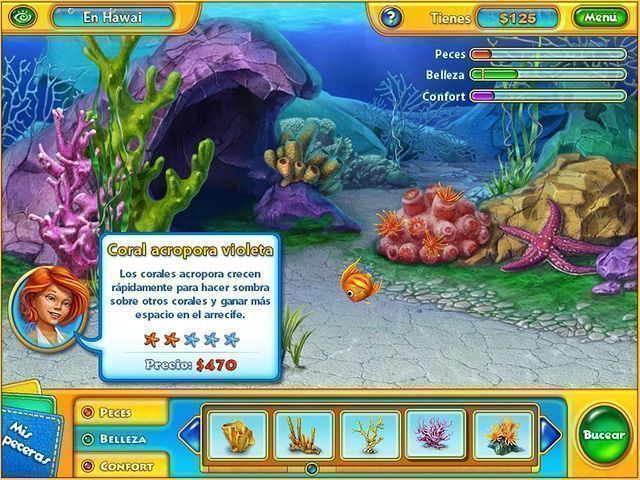 Fishdom H2O: Hidden Odyssey en Español game