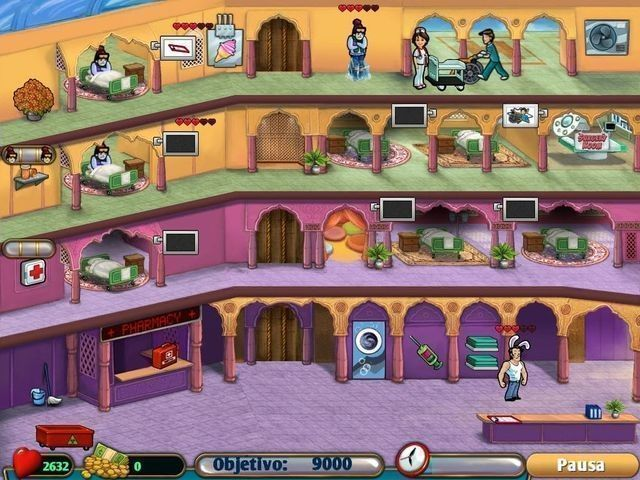 Hospital Haste en Español game
