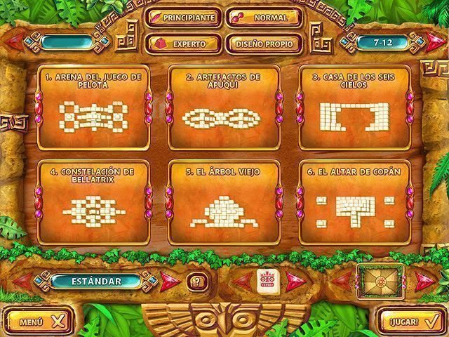 Mahjongg – Ancient Mayas en Español game