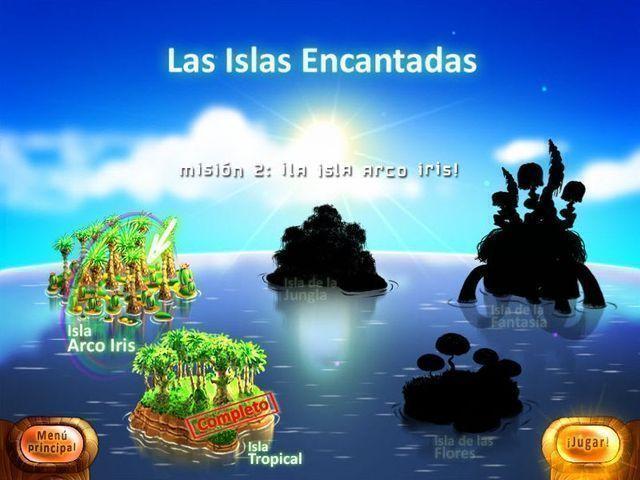 Las Islas Encantadas en Español game