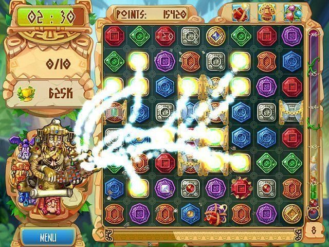 The Treasures of Montezuma 5 en Español game