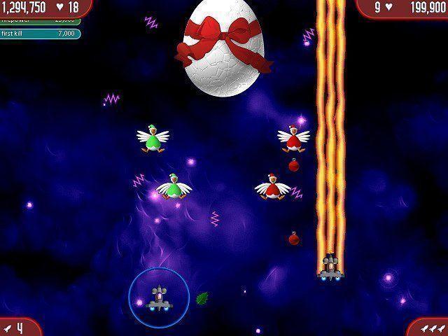 Chicken Invaders: The Next Wave Christmas Edition - Zręcznościowe