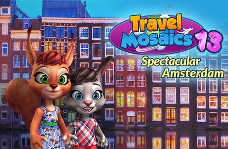 Travel Mosaics 13: Spectacular Amsterdam