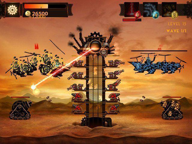 Steampunkowa Wieża: Gra Defense